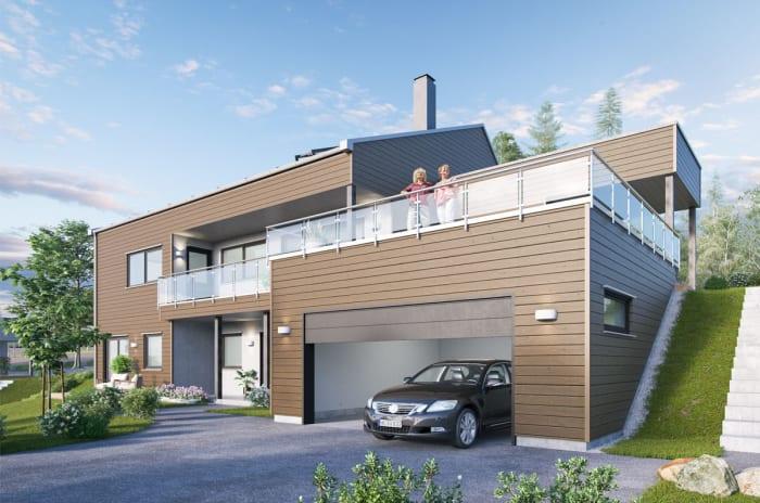 Fast pris på boligene i prosjektet Villa Havblikk