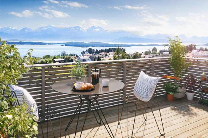 Illustrasjon av balkong BK1