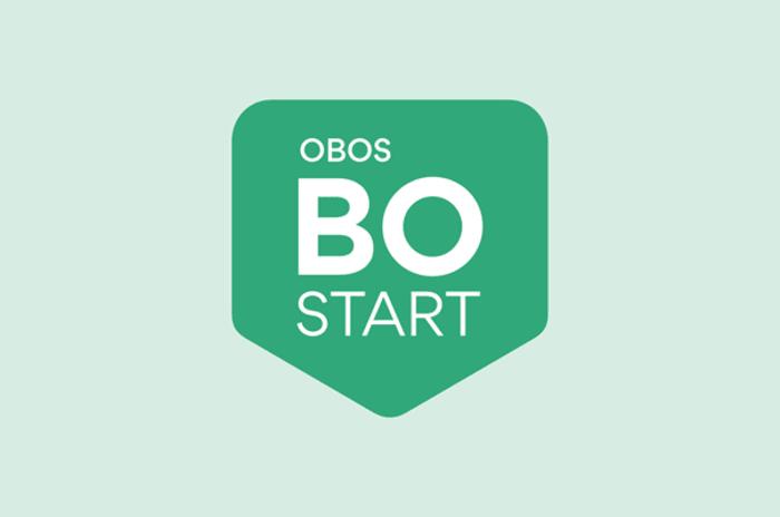 Nettside om OBOS Bostart