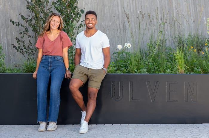 Bilde av ungt par på Ulven