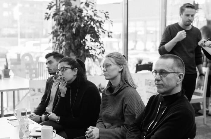 Foto fra medvirknings-workshop på OBOS Living Lab.