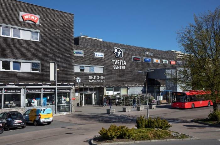 Bilde av Tveita Senter fasade