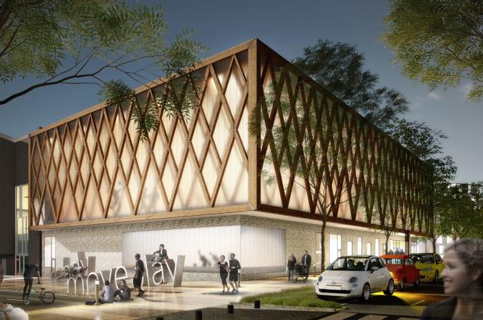 Inspirationsbild för Årstafältet som obos planerar att bygga i gamla Enskede