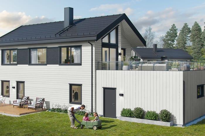 Prosjektside for Villa Havblikk