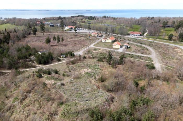 Byggmark för projekt Golfrundan