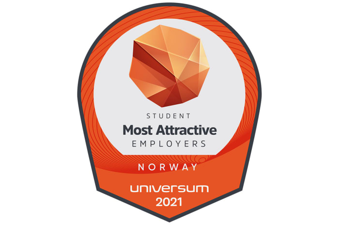 Emblem fra Universum - Most attractive employers