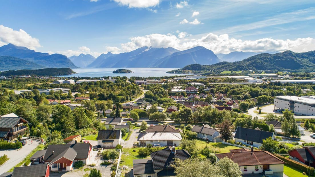 Utsikt fra Blindheimshøgda