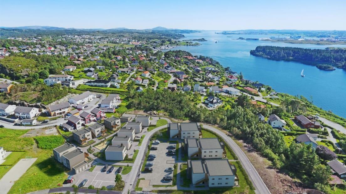 Oversiktsillustrasjon Mølleparken
