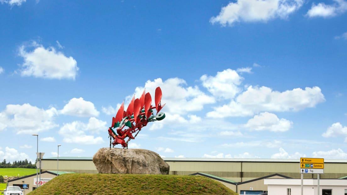 Bilde av landemerket Kvernelandplogen