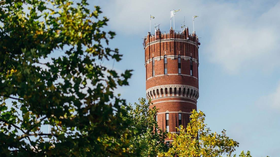 Ett torn inne i Kalmar