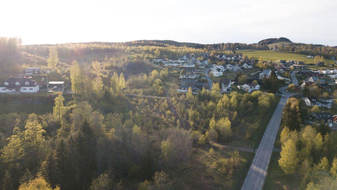 Øverbylia dronefoto