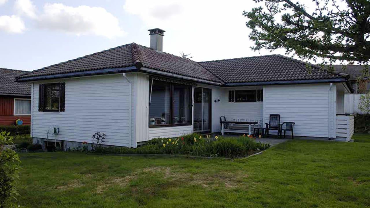 Bilde av Block 18 bygget i Sandnes 1978