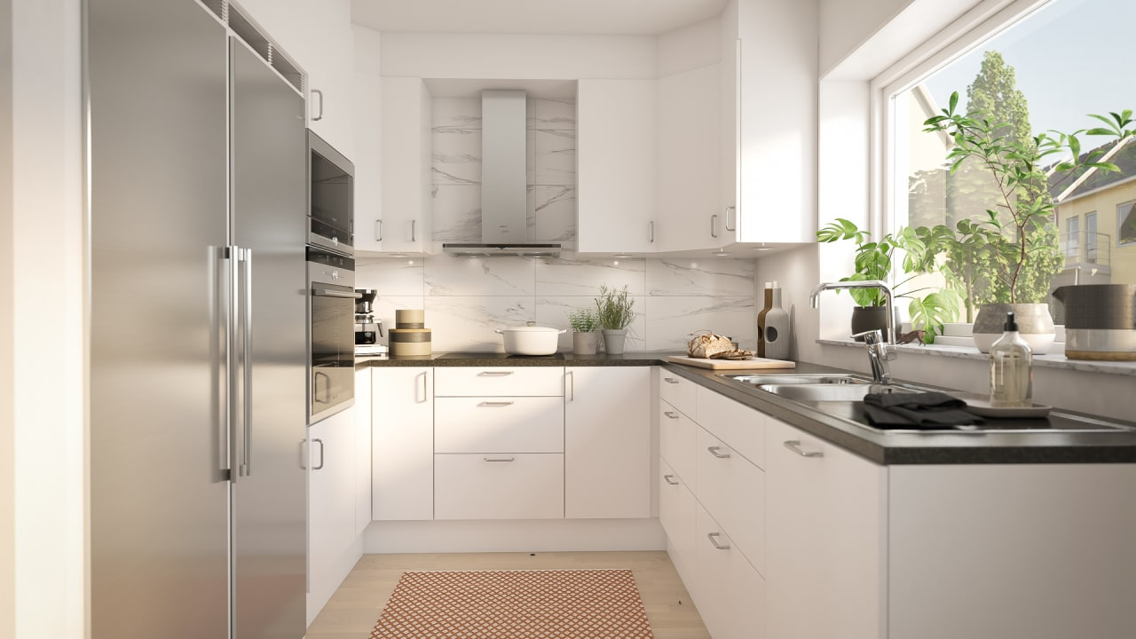 Kök lägenhet 100 kvm brf gulsparven