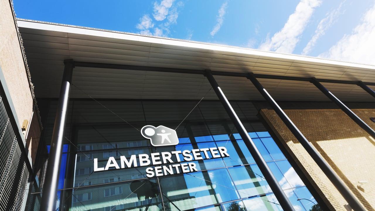Bilde av fasade Lambertseter senter