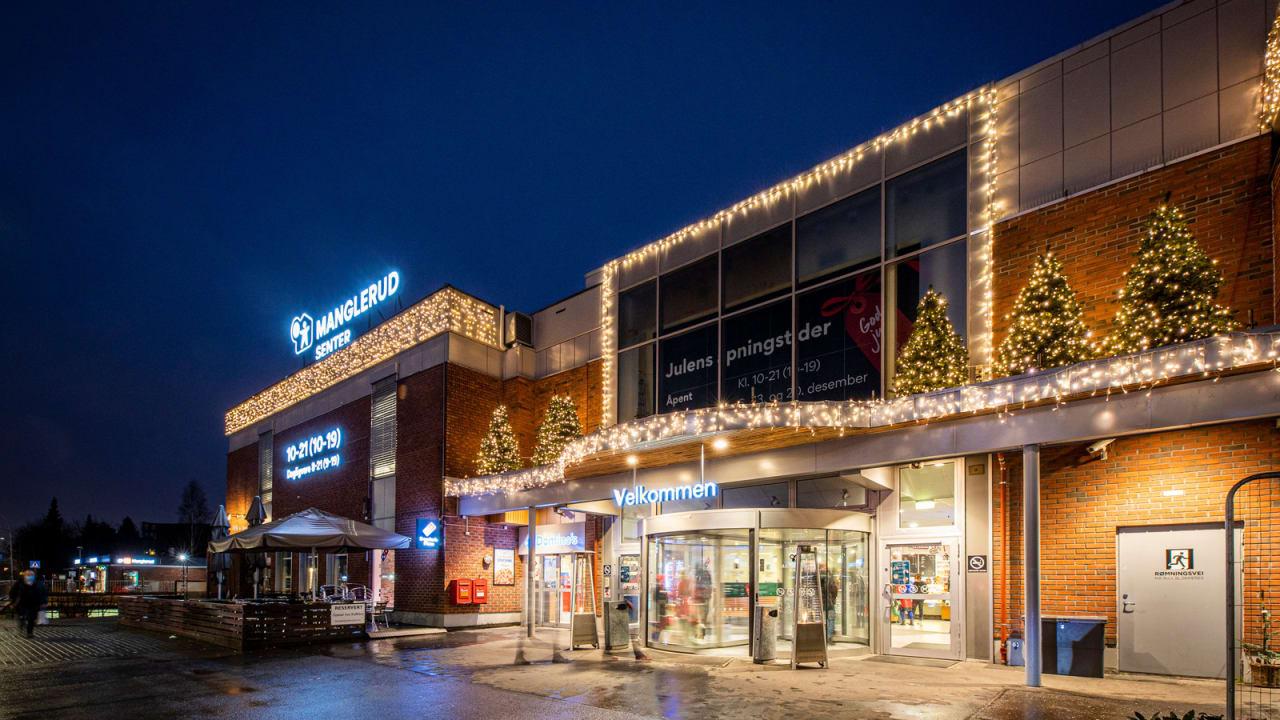 Manglerud Senter er et trivelig nærsenter med 60 butikker og servicefunksjoner.