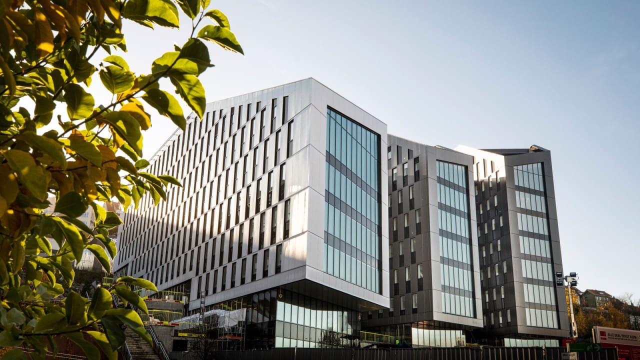 Oslo K - fremtidens kontorbygg i Kværnerbyen