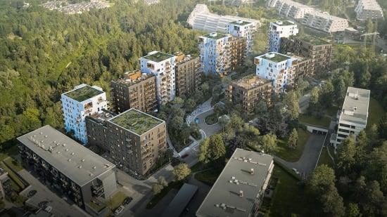 Prosjektside for Røakollen