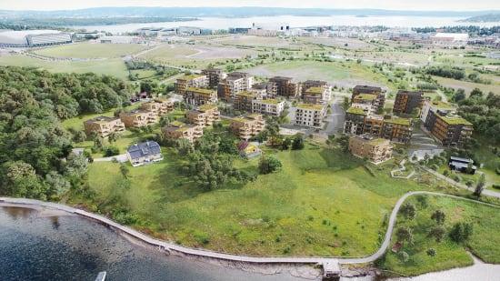 Prosjektside for Oksenøya