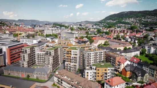 Prosjektside for Kronstadparken i Bergen