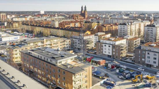Brf Munktell som obos planerar att bygga i Eskilstuna