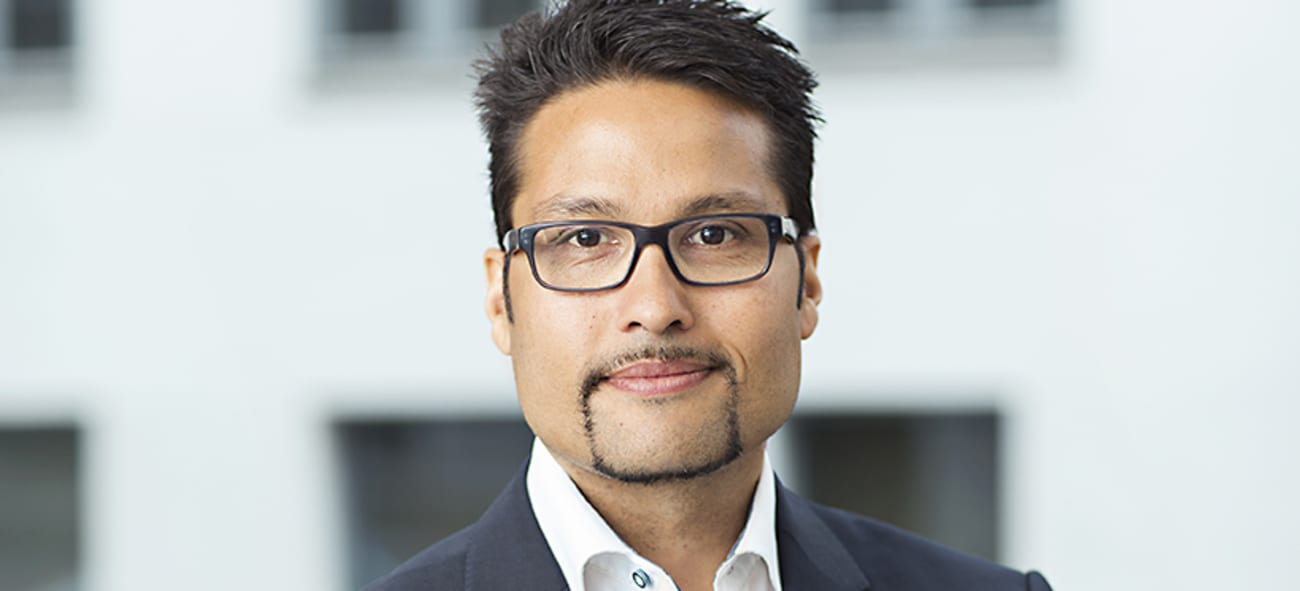 Daniel Kjørberg Siraj, konsernsjef i OBOS