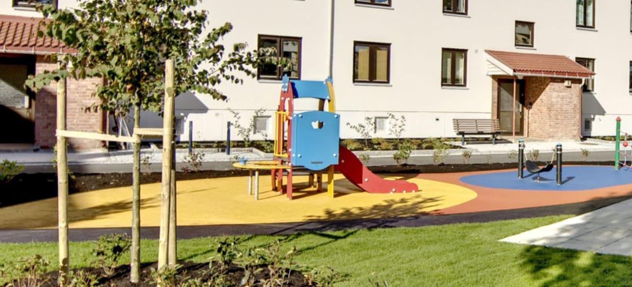 Bilde av lekeplass
