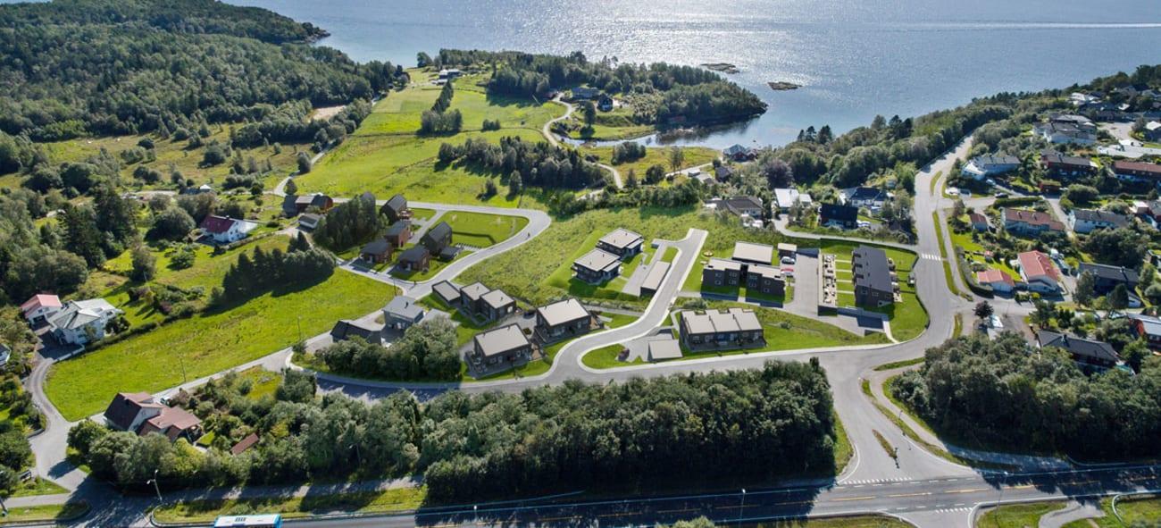 Artikkel om nabolaget i Emblemsvågen i Ålesund