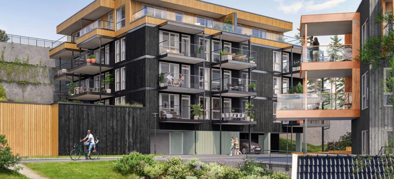 Artikkel om boligene på Nytreet