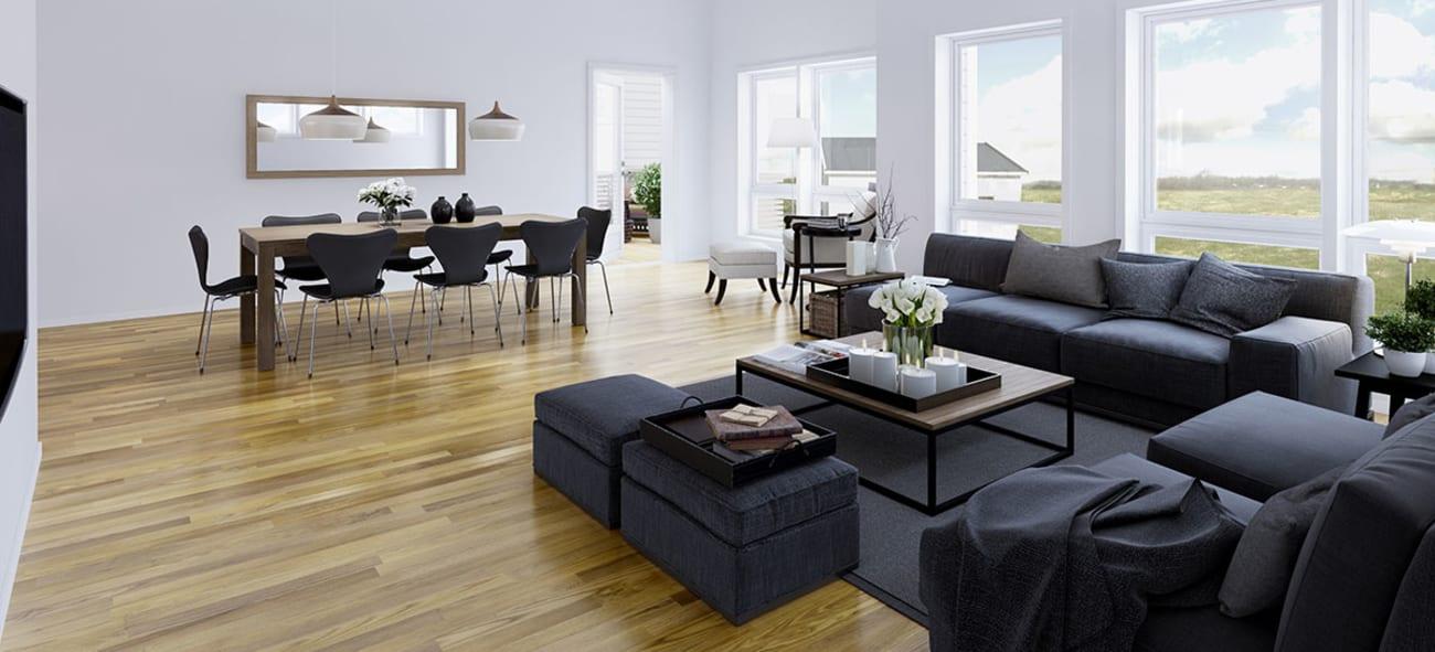 Artikkel om boligene på Liakollen