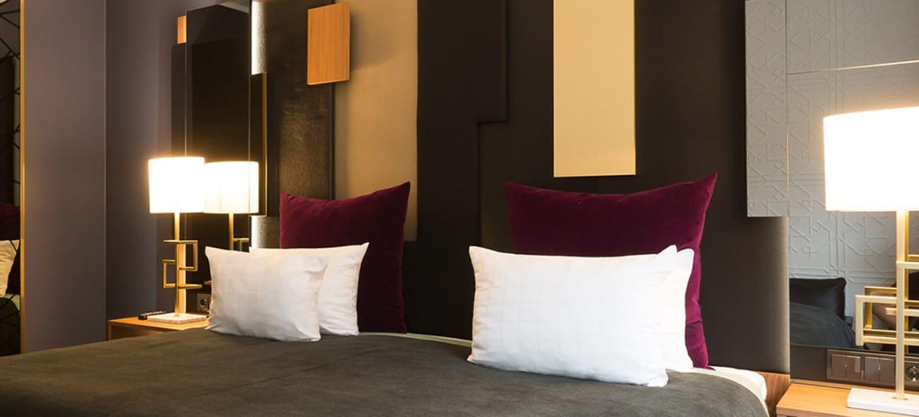 ett hotellrum på nordic choice hotels