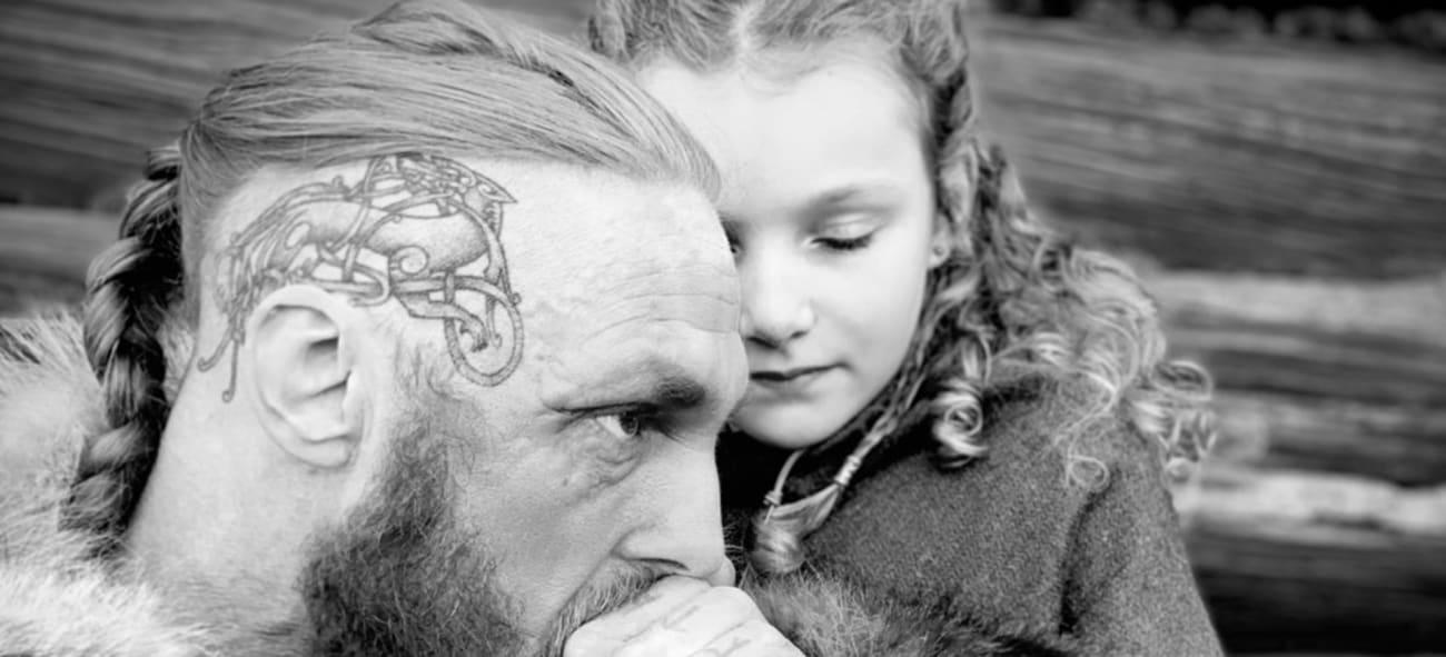 två vikingar på the viking museum