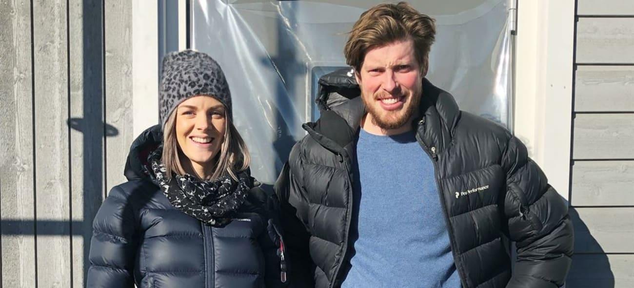 Bild på par som köpte hus i Kv Hällmarken