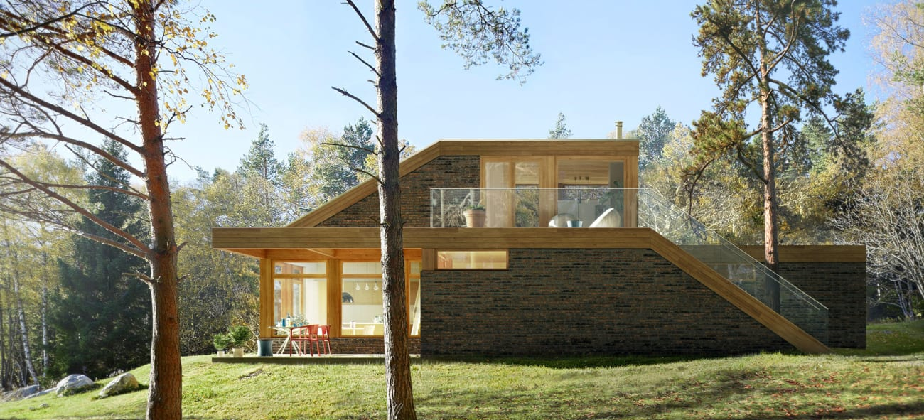 Bygge hus? Fluks er et konsept mellom ferdighus og arkitekttegnet hus.