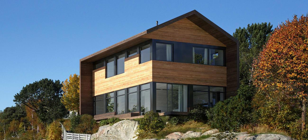 Osp er et kompakt og billig hus som gir deg mye for pengene.