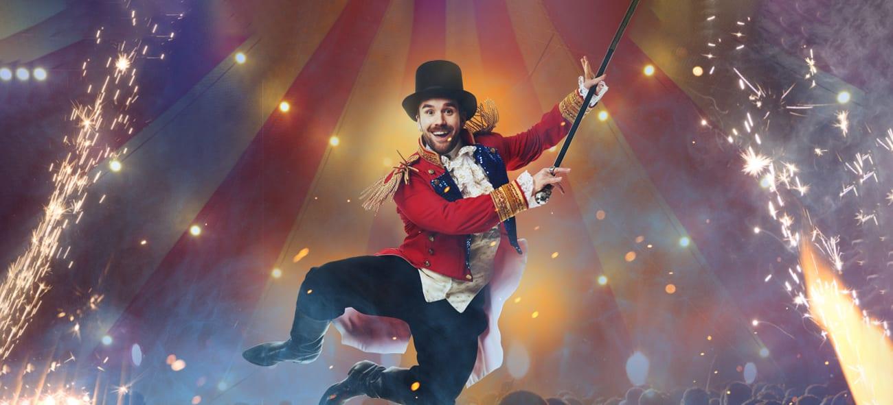 Stian Blipp forestilling Cirque Du Blipp på Latter