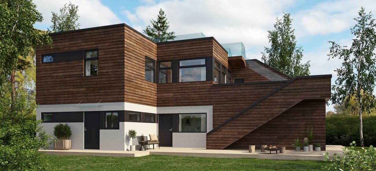 Bygge-hus-med-utleiedel