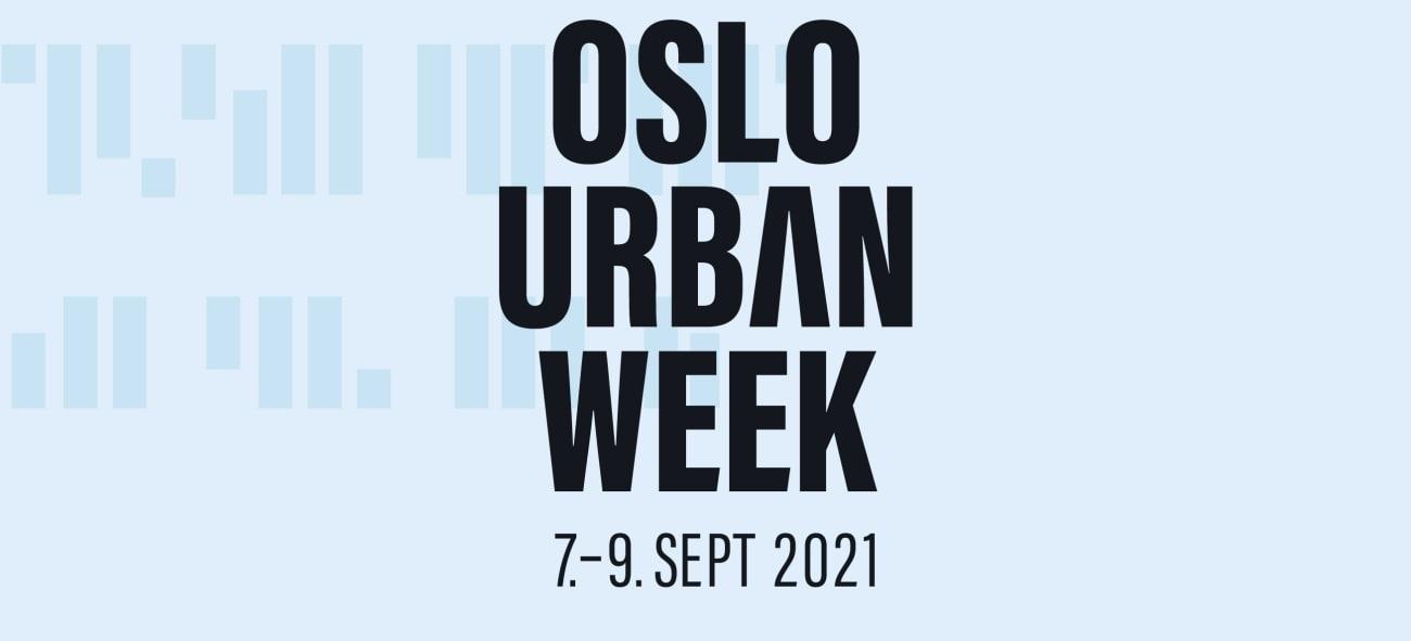 Oslo Urban Week plakat.