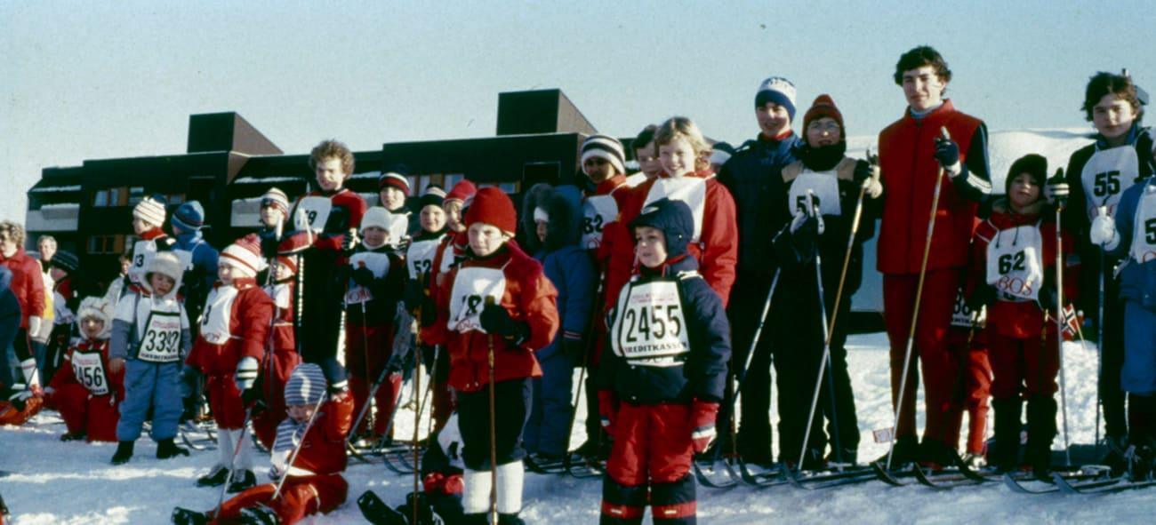 Bilde fra Nordre Gran skiløp