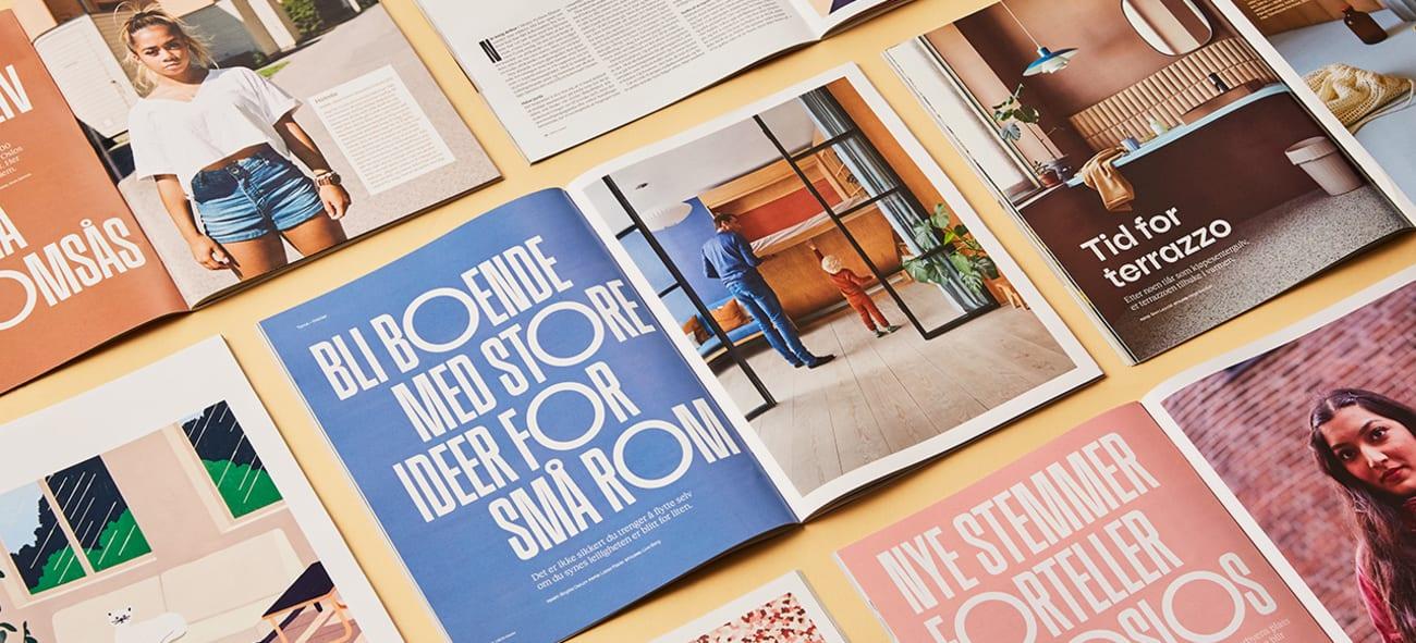 Bilde av OBOS-bladet