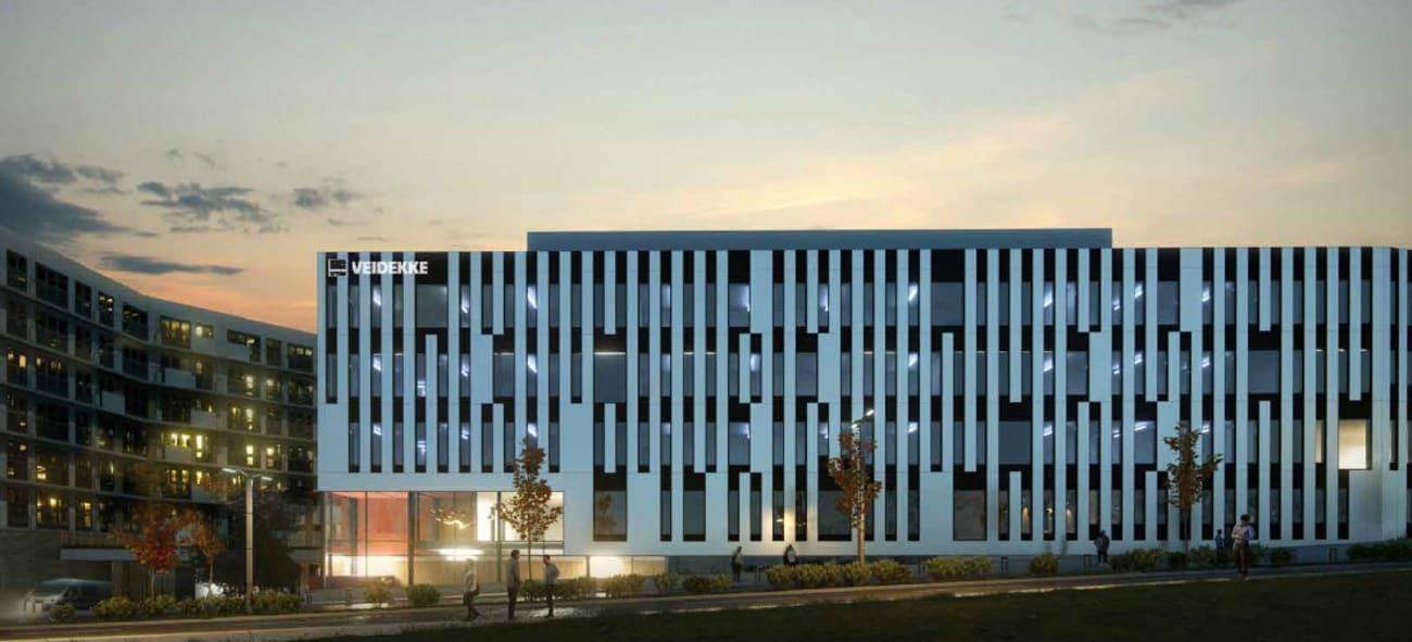 Nytt hovedkontor for Veidekke