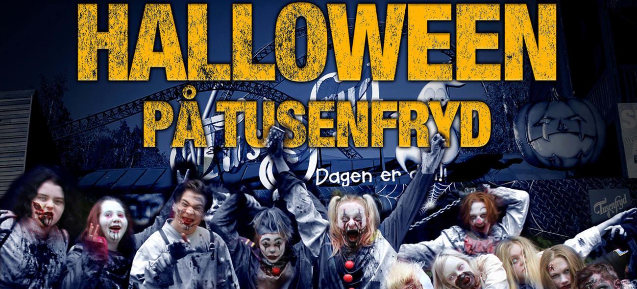 Medlemsfordel Halloween på Tusenfryd