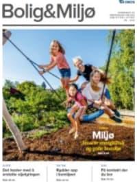Forsiden av Bolig & Miljø nr. 4 2018