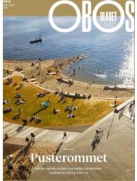 Bildet viser forsiden av OBOS-bladet nummer 5, 2021.