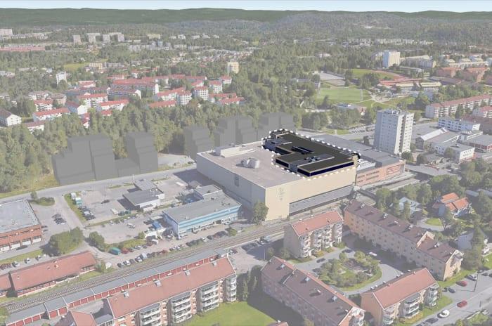 Lambertseter Helsehus - illustrert ferdigstilt nov 2020