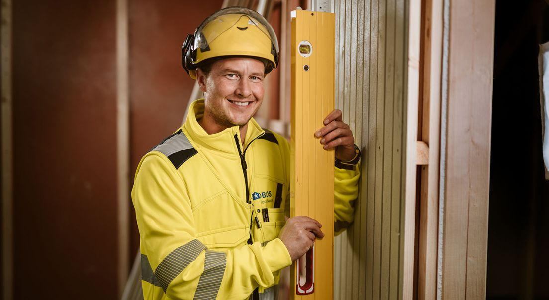 Tømrer Robin Hansen, tømrer i Viken Nord