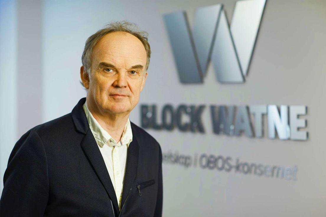 Utviklingssjef SverreKirkevold i OBOS Block Watne