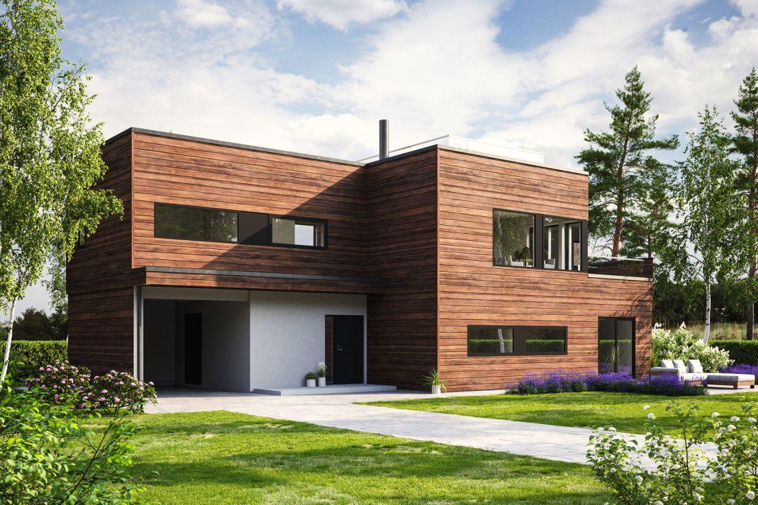 Med moduler designet av det prisvinnende arkitektkontoret Helen & Hard, kan du som kunde skape ditt unike, arkitekttegnede hus.