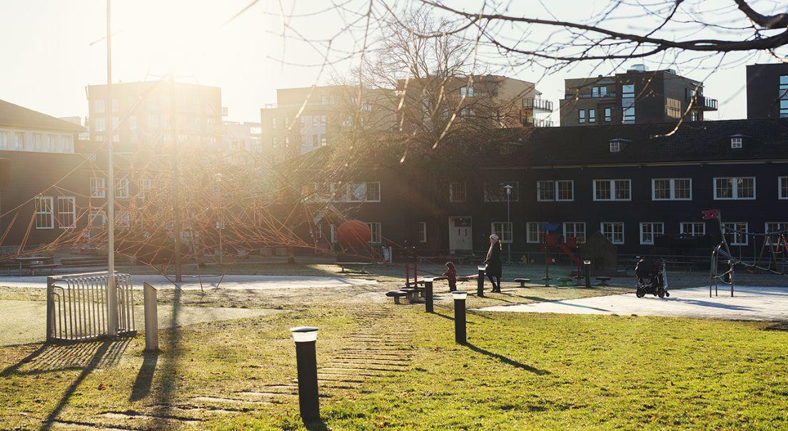Park og lekeplass på Løren