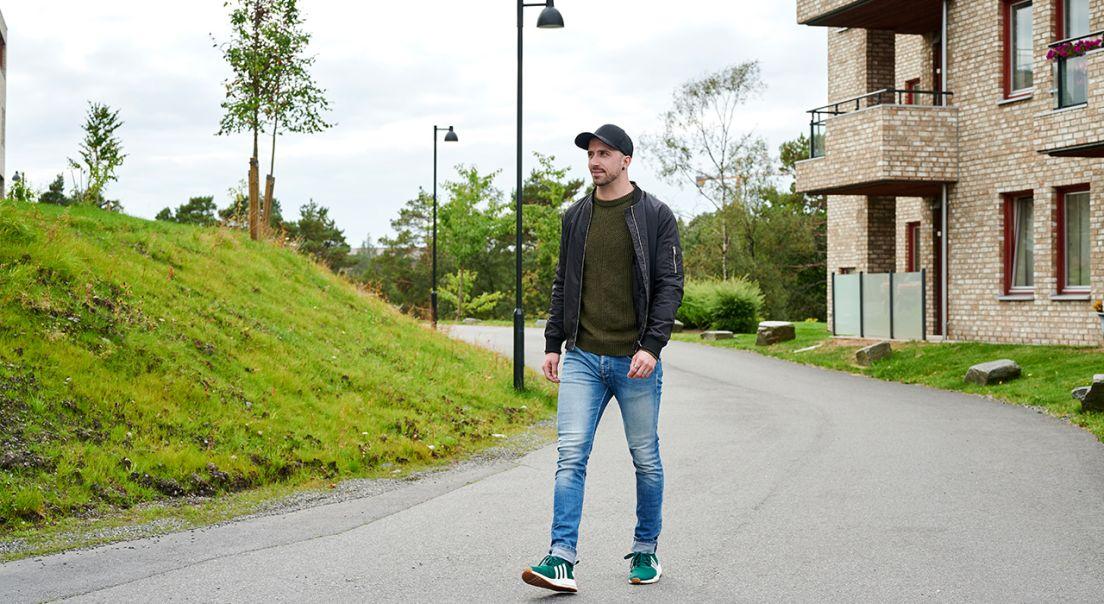 Fotografi av Kim LEander Solsvik Thorsen som har kjøp bolig med Deleie