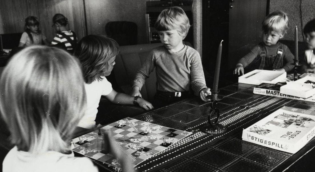 Bilde fra ett av fellesrommene på Furuset i 1980